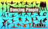 39 Vector Dancing Silhouettes