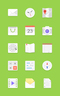 Light Android Icons Set