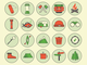 PSD freebie - Camping Outdoor Icons