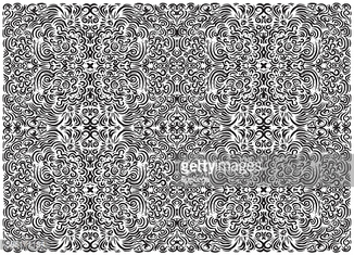 Hand drawn Vector Trendy freehand art composition