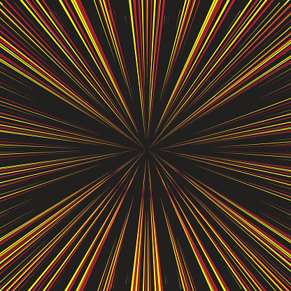 Yellow and red geometric pattern with line, Abstract background.