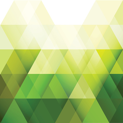green triangle modern geometric background for business or technology