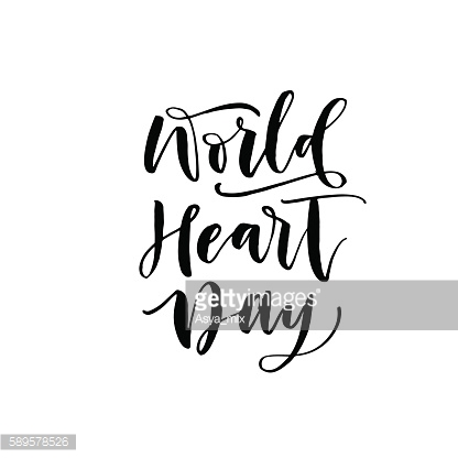 World Heart day background.