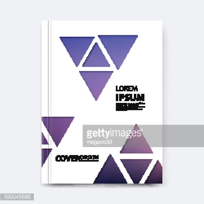 Abstract vector triangle design