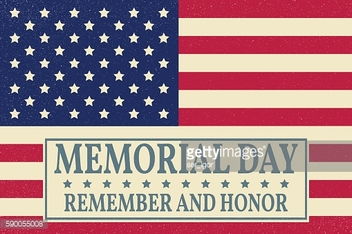 Happy Memorial Day background template. Happy Memorial Day poster. Remember