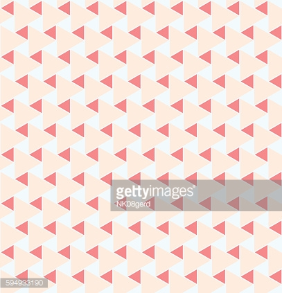 Geometric seamless pattern background with triangle.