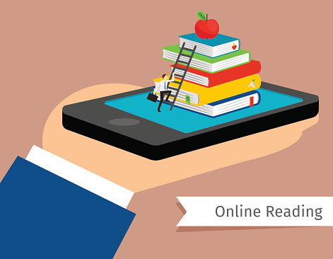 Mobile library in smartphone