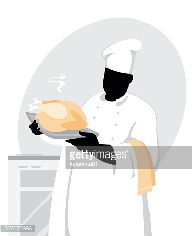 Cook with chicken