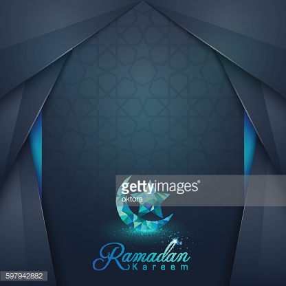 Ramadan Kareem islamic design greeting card and banner background
