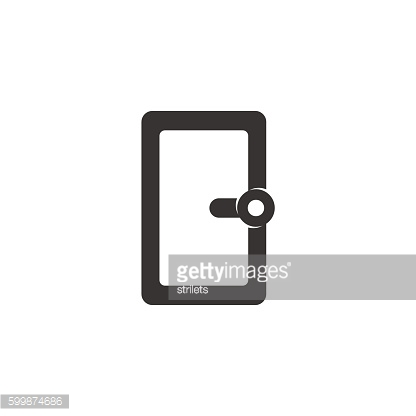 Vector Window icon isolated on a white background