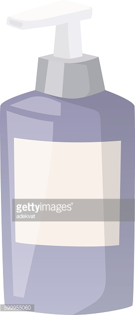 Cosmetics blank package box icon vector.