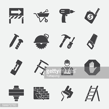 Under construction vector icon