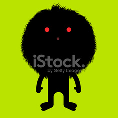 Happy Halloween dream furry horror character illustration