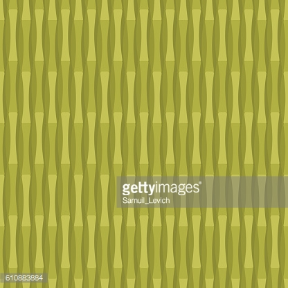 Bamboo seamless pattern. Green plant tester. Chinese  herb backg