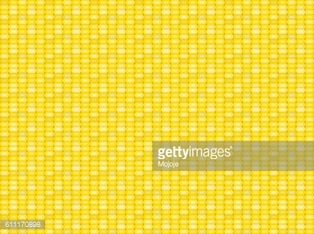Seamless corn pattern and texture in flat