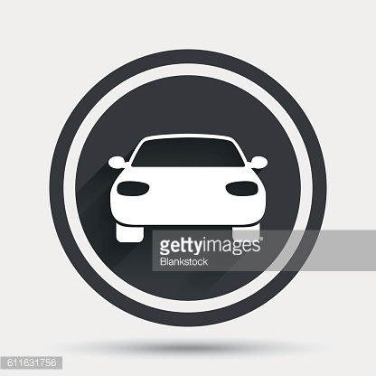 Car sign icon. Delivery transport symbol.