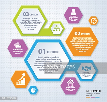 Vector rhombus template for infographic. Business concept. Eps 10.
