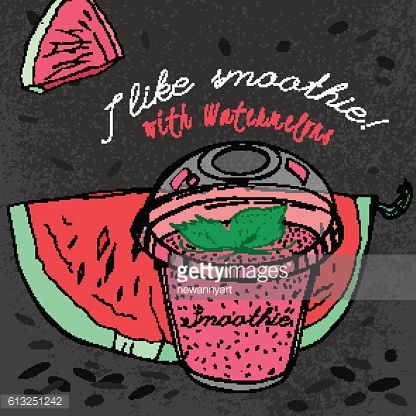 Watermelon Smoothie 02 A