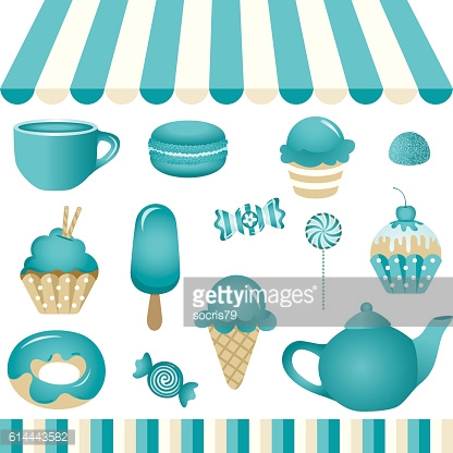 Turquoise Candy Shop