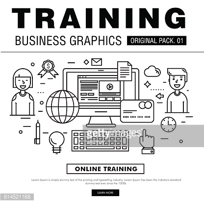Modern business training pack.
