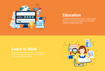 Education Online Learning Web Banner