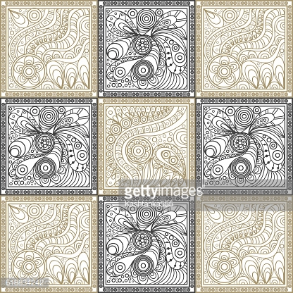 Graphic texture with openwork pattern 2