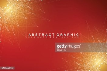 Graphic abstract background communication. Vector illustration