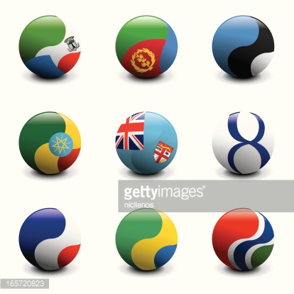 Group of Crystal Ball Flags
