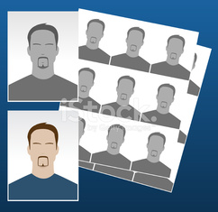 Photo icons with faces