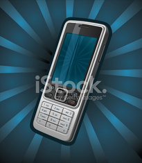 Mobile phone with keypad