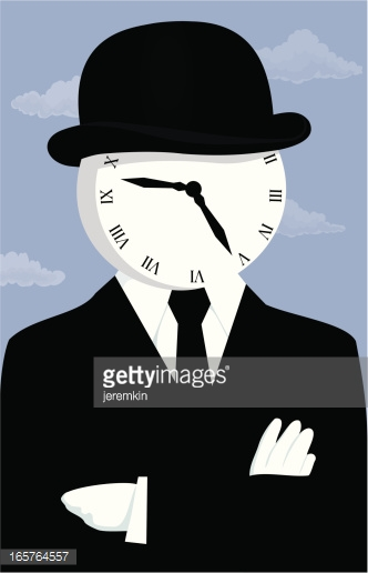 Clock Face Man