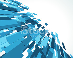 Abstract 3D lines background with geometric theme