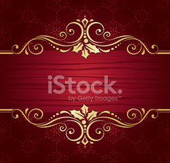 Ornate Christmas Banner