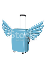 Flying Luggage