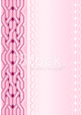 Pink background with weaving pattern