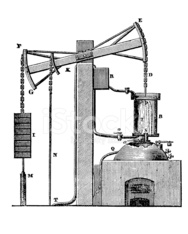 Steam-powered machines and devices