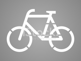 Stencil bicycle