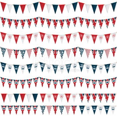 uk party bunting pack