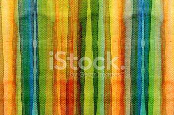 Abstract stripe watercolors