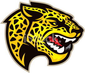 Jaguar Mascot Head