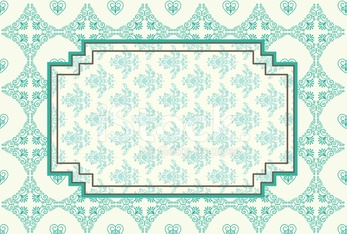 Vintage background with lace ornaments. Vector