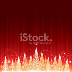 Christmas forest background