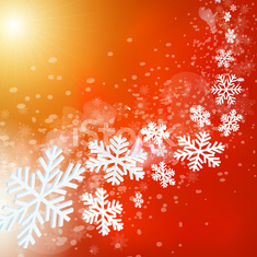 Abstract red merry christmas and new year background