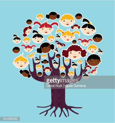 Diversity children concept tree