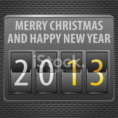 New Year 2013 on Mechanical Timetable