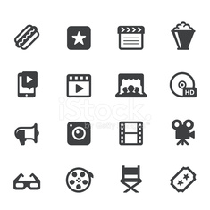 Movie and Video Icons