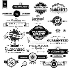 Vintage Commerce Elements - Labels