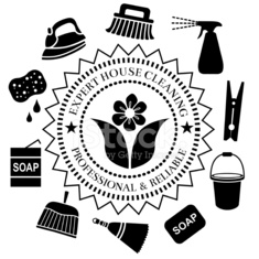 house cleaning service seal