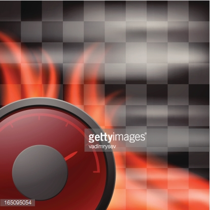 Abstract racing checkered background