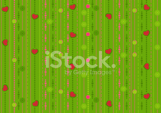 seamless pattern with the hearts